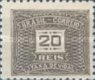 [Numeral Stamps - Different Watermark, type D57]