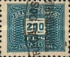 [Numeral Stamps, type D8]
