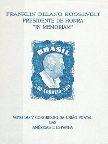 [Airmail - Homage to Franklin D. Roosevelt, type ]