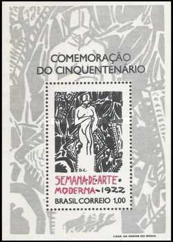 [The 50th Anniversary of the first Modern Art Week, Sao Paulo, type ]
