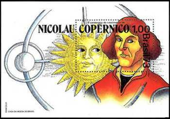 [The 500th Anniversary of the Birth of Nicholas Copernicus, Astronomer, 1473-1543, type ]
