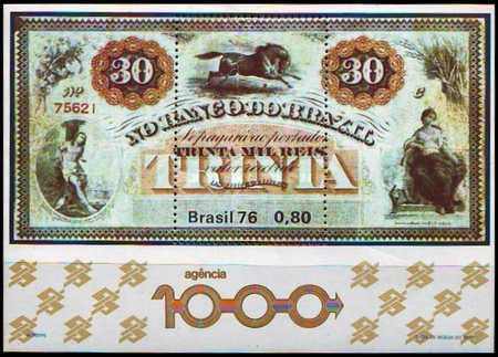 [Opening of the Bank of Brazil's Thousandth Branch at Barra do Bugres, type ]