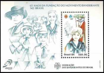 [The 65th Anniversary of the Girl Guides Movement in Brazil, type ]