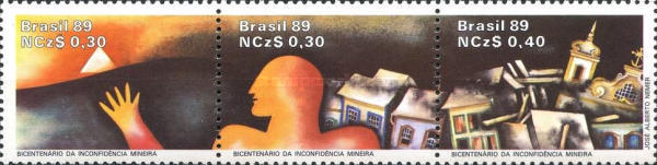 [The 200th Anniversary of the Inconfidencia Mineira, Independence Movement, type ]