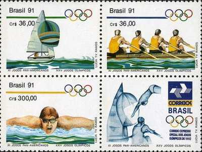 [The 11th Anniversary of the Pan-American Games - Cuba, and Olympic Games - Barcelona 1992, Spain, type ]