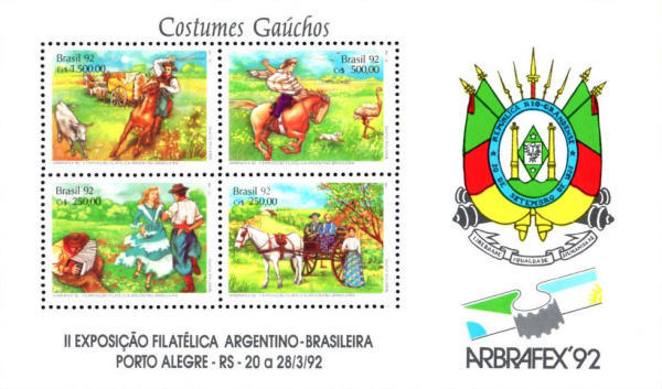 [Argentinian-Brazilian Stamp Exhibition