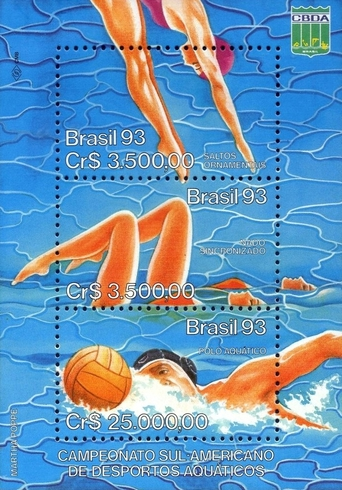 [South American Water Sports Championships, Goiania, type ]
