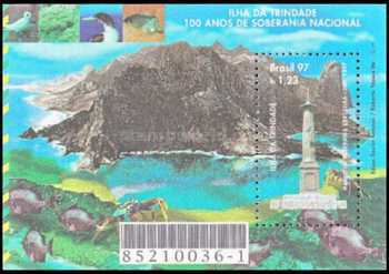[The 100th Anniversary of the Brazilian Sovereignty of Trinidade Island, type ]