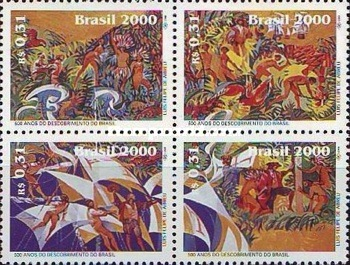 [The 500th Anniversary of the Discovery of Brazil, type ]