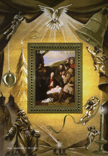 [Christmas - The Adoration of the Shepherds, type ]