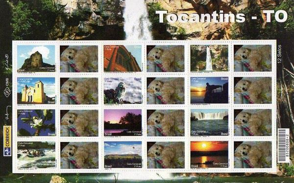 [Views of Tocantins - Personalized Stamps, type ]