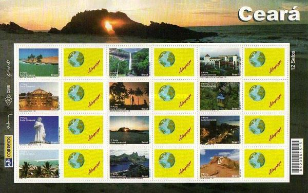 [Views of Ceará - Personalized Stamps, type ]