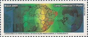 [The 100th Anniversary of the Federal Vocational and Technological Education Network - Personalized Stamp, type ]