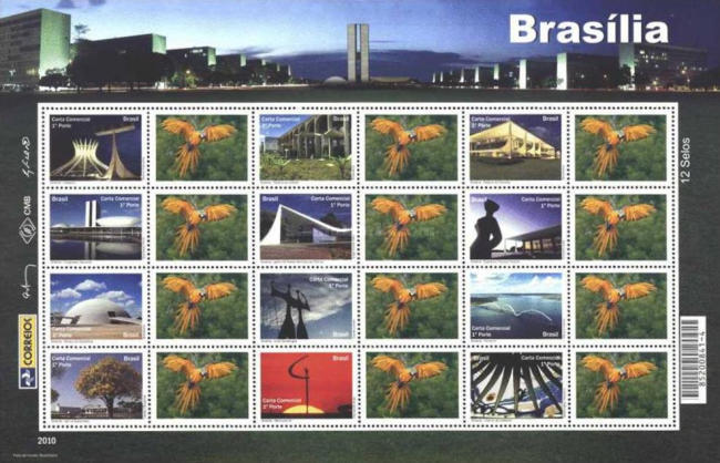 [Wonders of Brazil - Personalized Stamps, type ]