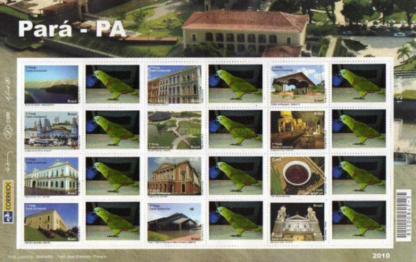 [Federal State Para and City Belem - Personalized Stamps, type ]