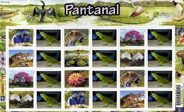 [Flora and Fauna of Patanal - Personalized Stamps, type ]