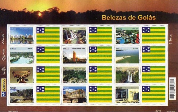 [Views of Goiás - Personalized Stamps, type ]