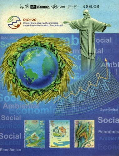[Rio +20 - United Nations Conference on Sustainable Development - Self Adhesive Stamps, type ]
