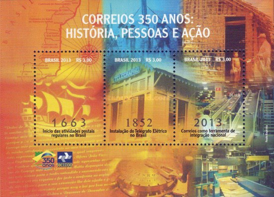 [The 350th Anniversary of the Post Office - History, People and Action, type ]