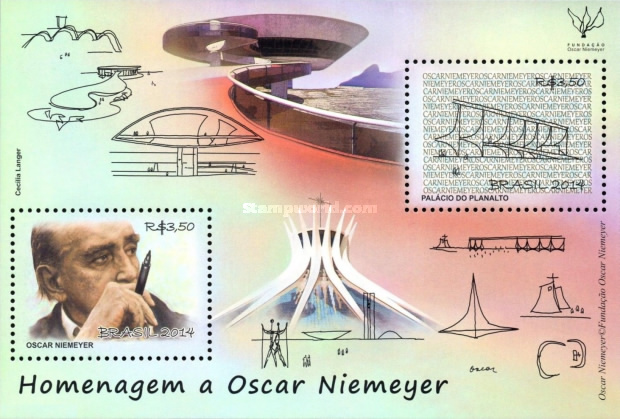 [Oscar Niemeyer, 1907-2012, type ]