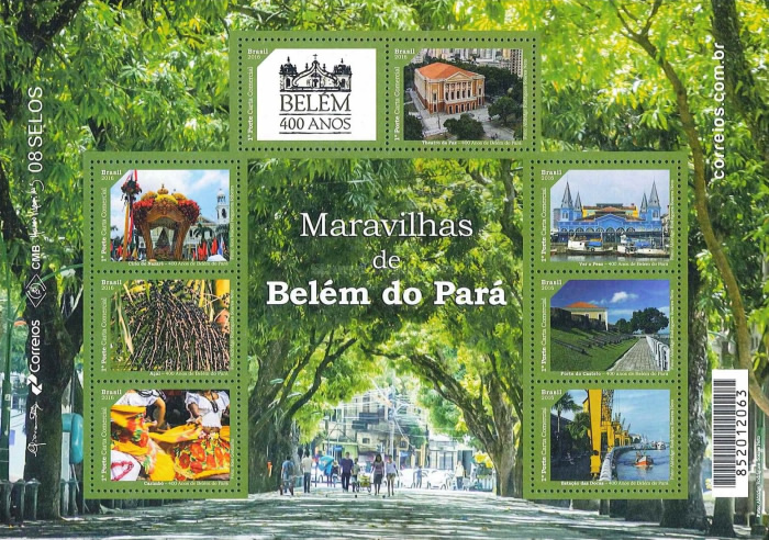 [The 400th Anniversary of the City of Belém, type ]