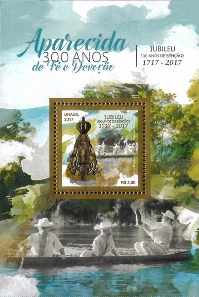 [The 300th Anniversary of Our Lady of Aparecida, type ]