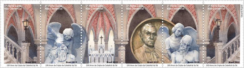 [The 100th Anniversary of the Crypt of São Paulo Cathedral, type ]