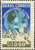 [Football World Cup - Brazil 1950, type AAS]
