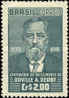 [The 100th Anniversary of the Birth of Orville Derby, 1851-1915, type ABH]
