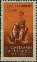 [The 400th Anniversary of Sao Paulo, 1954, type ACI]