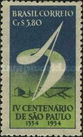 [The 400th Anniversary of Sao Paulo, 1954, type ACK]