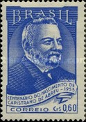 [The 100th Anniversary of the Birth of Joao Capistrano de Abreu, 1853-1927, type ADH]
