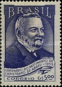 [The 100th Anniversary of the Birth of Joao Capistrano de Abreu, 1853-1927, type ADI]