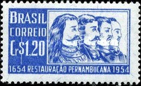 [The 300th Anniversary of the Recovery from the Dutch of Pernambuco, type ADV]