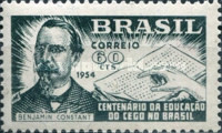 [The 100th Anniversary of the Education for the Blind in Brazil, type AEU]