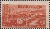 [Inauguration of Sao Francisco Hydro-electric Station, type AFC]