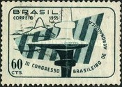 [The 3rd Anniversary of the Aeronautical Congress, Sao Paulo, type AFK]