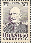[The 100th Anniversary of the Birth of Marshal da Fonseca, 1655-1923, type AFP]