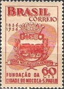 [The 100th Anniversary of Mococa, Sao Paulo, type AGA]