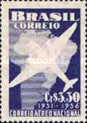 [The 25th Anniversary of the National Airmail, type AGC]