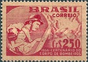 [The 100th Anniversary of the Firemen's Corps, Rio de Janeiro, type AGD]