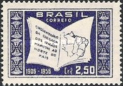 [The 50th Anniversary of the Arrival of Marist Brothers in North Brazil, type AGF]