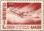 [Airmail - The 50th Anniversary of the Dumont's First Heavier-than-air Flight, type AGN]