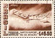 [Airmail - The 50th Anniversary of the Dumont's First Heavier-than-air Flight, type AGO]