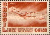[Airmail - The 50th Anniversary of the Dumont's First Heavier-than-air Flight, type AGP]