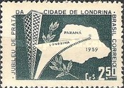 [The 25th Anniversary of Londrina, type AIT]