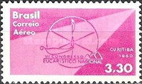 [Airmail - The 7th Anniversary of the National Eucharistic Congress, Curitiba, type AJO]