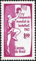[The 4th Anniversary of the World Basketball Championships, type ALN]