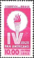 [The 4th Anniversary of the Pan-American Games, Sao Paulo, type ALO]