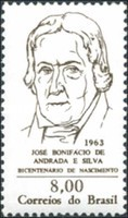 [The 200th Anniversary of the Birth of Jose B. de Andrada e Silva, Father of Independence, 1763-1838, type ALQ]